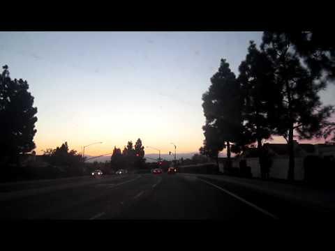 Driving Through the Beautiful Neighborhood of Mira Mesa in San Diego