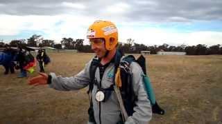 AFF Stage 1 Landing