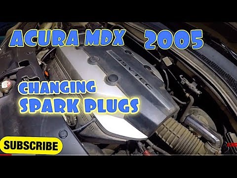 How to Replace Spark PLUGS on 2006 Acura MDX