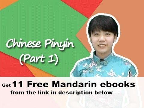 Chinese Pinyin (Part 1)