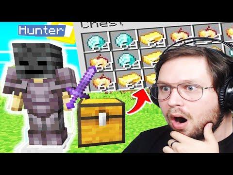Minecraft Hunter, Mais les coffres sont Cheatés !