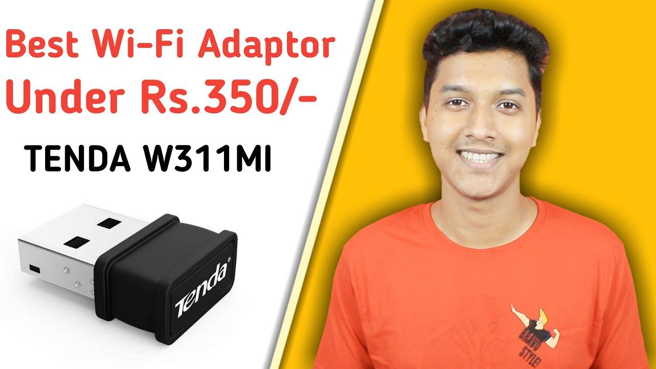Unboxing - Wi-Fi Adapter   Tenda Wi-Fi Adapter   Tenda W311MI   Wi-Fi Unboxing & Review in Hindi
