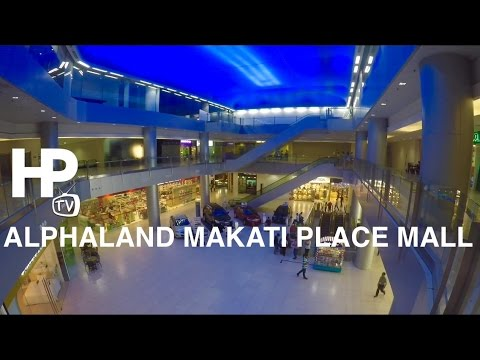 Alphaland Makati Place Mall Walking Tour Overview Ayala Avenue by HourPhilippines.com