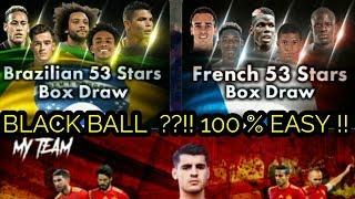 Baixar BLACKBALL ?? EASY :) !! BRAZILIAN & FRENCH 53 STARS BOX DRAW !!