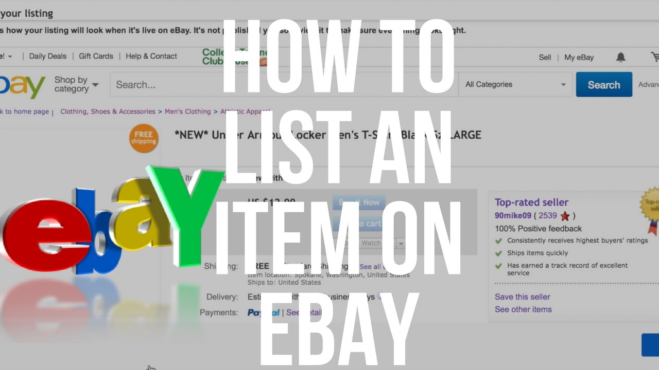 How To List On eBay | Detailed Step By Step Tutorial For Beginners | 2020