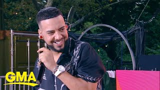Catching up with French Montana | GMA