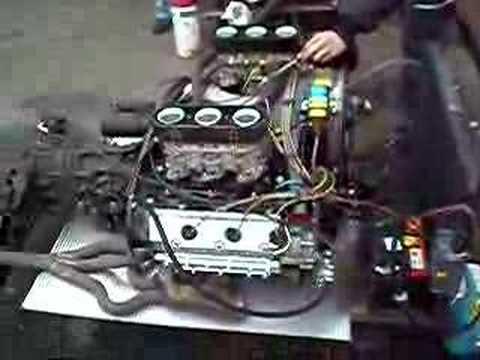 Porsche 914-6 2,0 l Motor