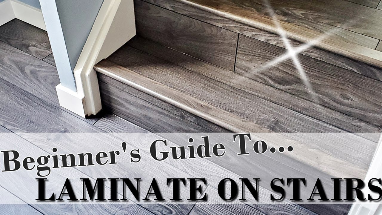 How To Install Laminate On Stairs Step, How To Glue Laminate Flooring Stairs