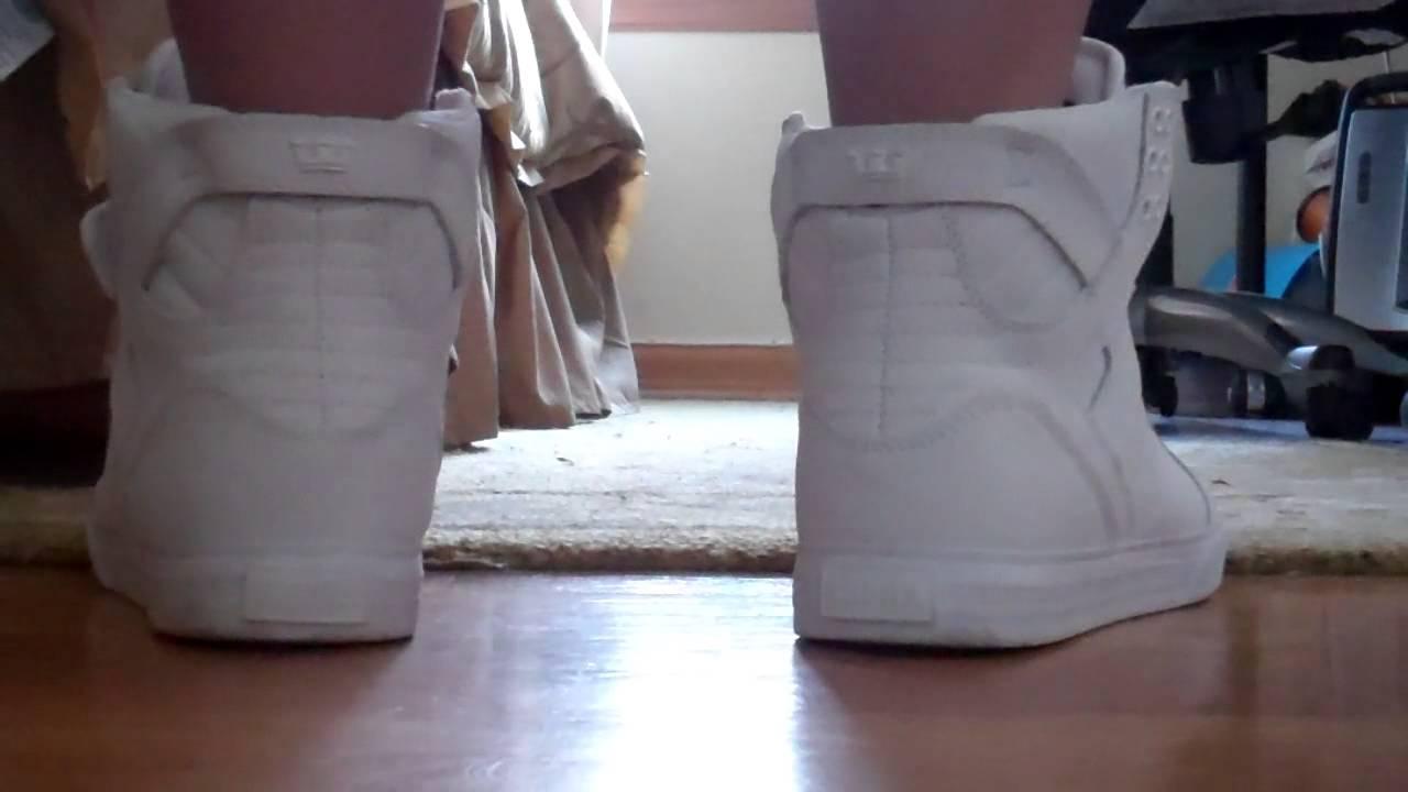 Supra Skytop White Gunny Tuf On Feet Youtube