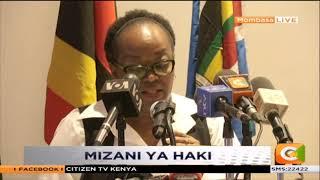 Kongamano la Majaji wa Afrika Mashariki Mombasa #SemaNaCitizen