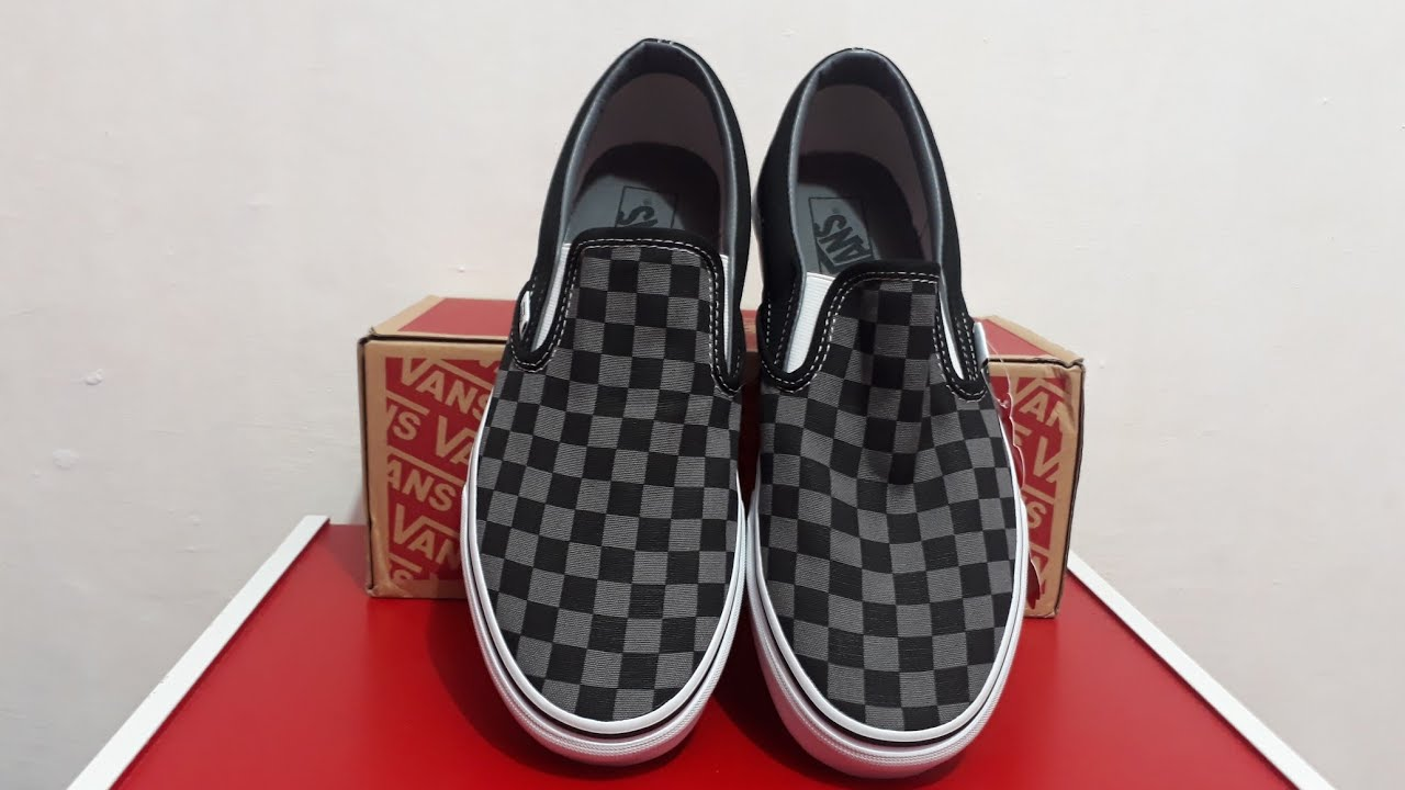 c854eea5e68409 UNBOXING Vans checkerboard !!!!