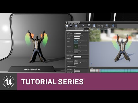 Intro to Cascade: Creating an AnimTrail Emitter | 09 | v4 2 Tutorial