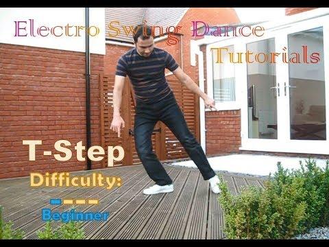 Electro Swing Dance Tutorial - 2) T-Step