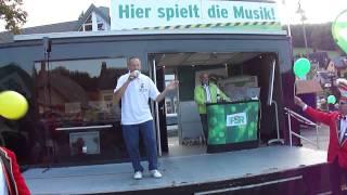 Songdancer Wolfgang Dittrich live bei Radio PSR zur Steffen Lukas Morning Show