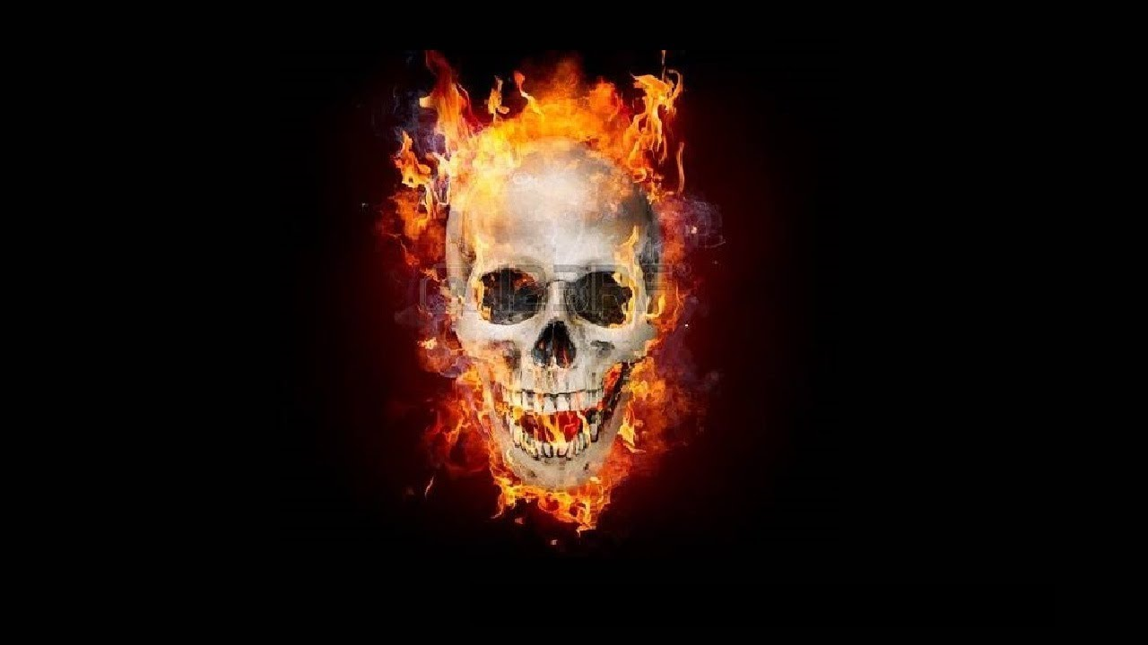 Fire Skull 3D Live Wallpaper Download now!