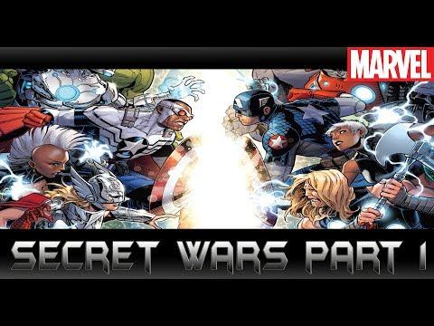 ภาคต่อ Time Runs Out! [ Secret Wars Part 1 ]comic world daily