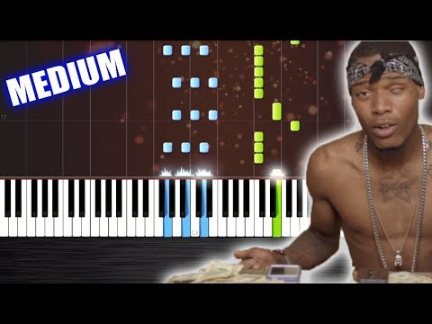 Fetty Wap - Trap Queen - Piano Cover/Tutorial by PlutaX - Synthesia