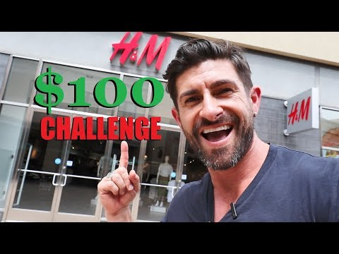 $100 Dollar H&M Outfit Challenge!