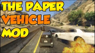 GTA 5 PC - THE PAPER VEHICLES MOD