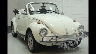 VW Beetle cabriolet 1973-VIDEO- www.ERclassics.com
