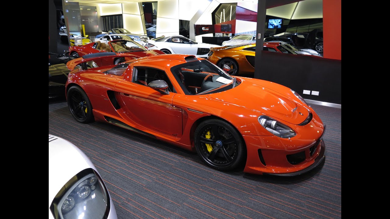 Gemballa Mirage GT - based on a Porsche GT - YouTube
