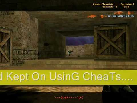Counter Strike Cheater Video With Song Aloo Chat Ft. RDB