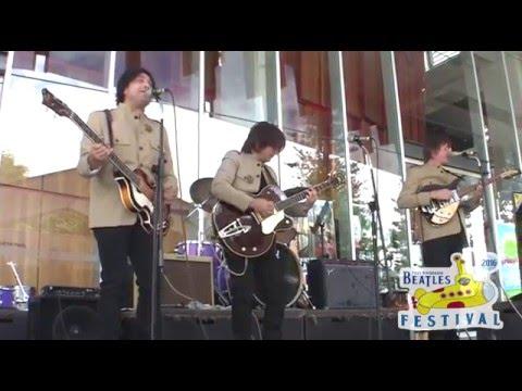 The Beatle Boys Live @ Port Macquarie Beatles Festival - Glasshouse Forecourt.