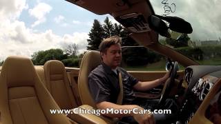 Bentley Continental GTC - Chicago Motor Cars Video Test Drive with Chris Moran