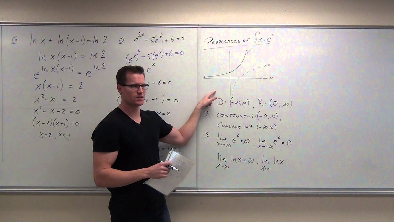 calculus 2 lecture 6 3 derivatives and integrals of exponential