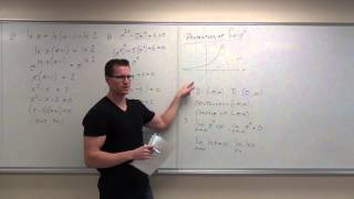 Calculus 2 Lecture 6.3:  Derivatives and Integrals of Exponential Functions