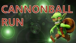 Cannonball Run - Clash of Clans Single Player Campaign Walkthrough - Level 6 Tutorial