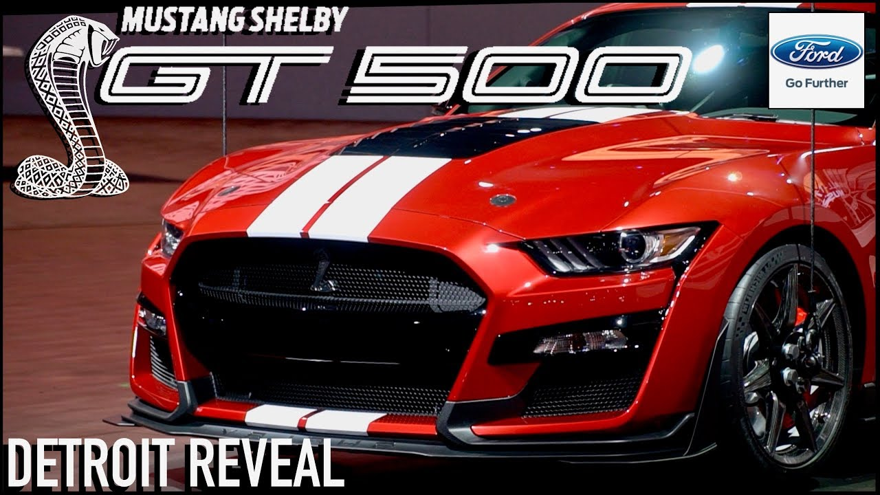 2020 ford mustang shelby gt500 upclose look details revealed
