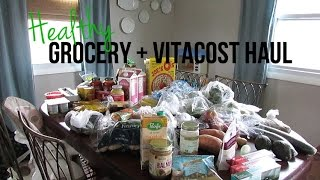 Healthy Grocery + Vitacost Haul + Plant Based Meal Plan