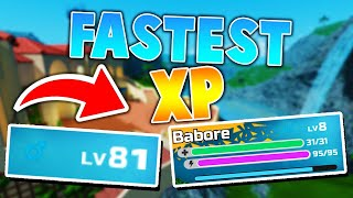 FASTEST Way To LEVEL In Loomian Legacy! (Roblox Loomain legacy Xp Tips)