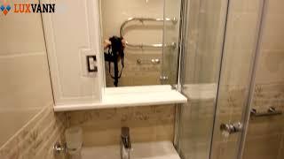 Видео обзор ремонта ванной комнаты от компании ЛюксВанн!