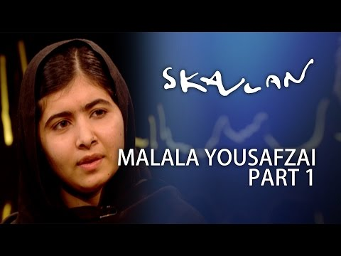 Malala Yousafzai Interview | Part 1 | Skavlan