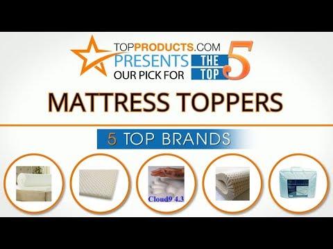 Best Mattress Topper Reviews 2017 – How to Choose the Best Mattress Topper