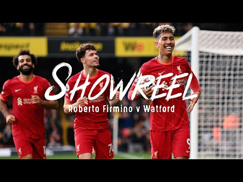 Showreel: The best of Roberto Firmino's star showing at Watford | Hat-trick highlights