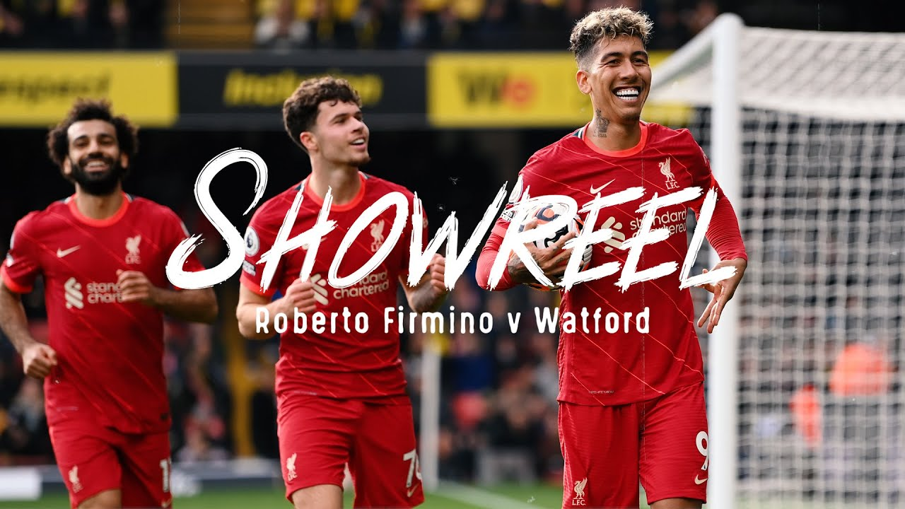Showreel: The best of Roberto Firmino's star showing at Watford   Hat-trick highlights