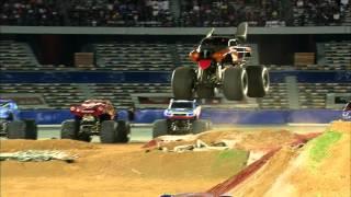 Monster Jam - Monster Mutt Rottweiler Freestyle From Abu Dhabi - May 10, 2013
