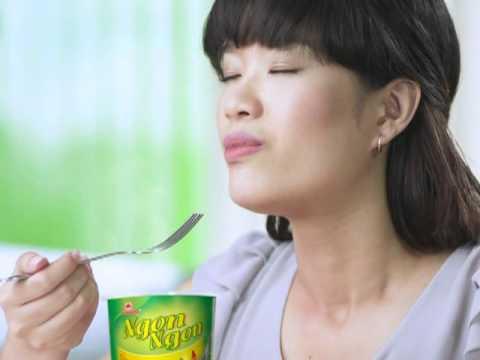 Mì ly Ngon Ngon mới - Ngon Ngon cup noodle