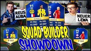 FIFA 17 91 DEMBELE vs 95 TOTS ROBBEN SQUAD BUILDER SHOWDOWN! 🔥⛔️🔥 - ULTIMATE TEAM (DEUTSCH)