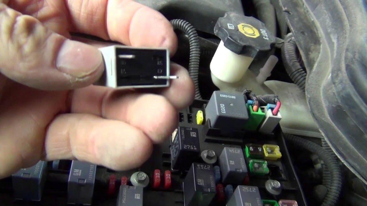 1995 Ford Wiring Schematic Chevy Cobalt No Crank P0411 P0651 Fix Youtube