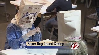 The Buzz: Paper-Bag Speed Dating