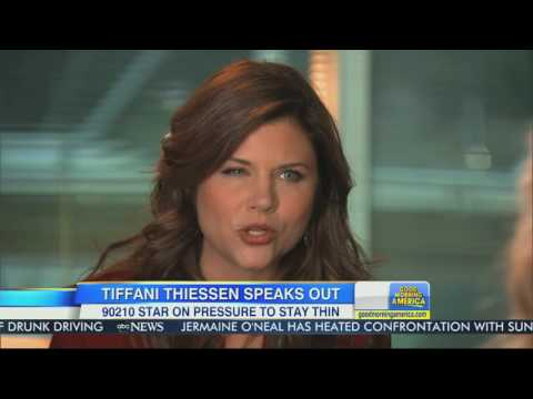 Tiffani Amber Thiessen Interview