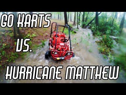 Go Karts vs. Hurricane
