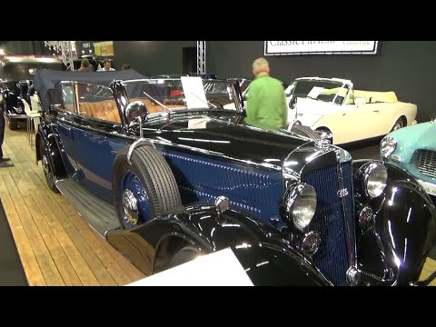 1936, Horch 830 BL Convertible