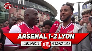 Arsenal 1-2 Lyon | Maybe Our Plan With Pepe Is To Outscore Teams (Livz)