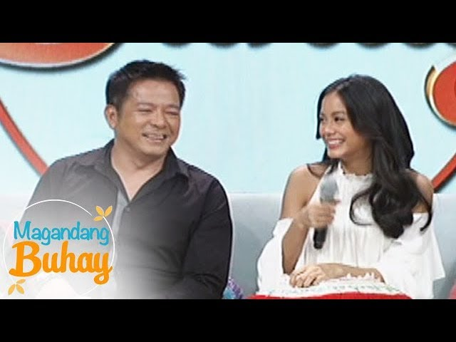 Magandang Buhay\: Ylona\'s father is close with Bailey\'s popshie!