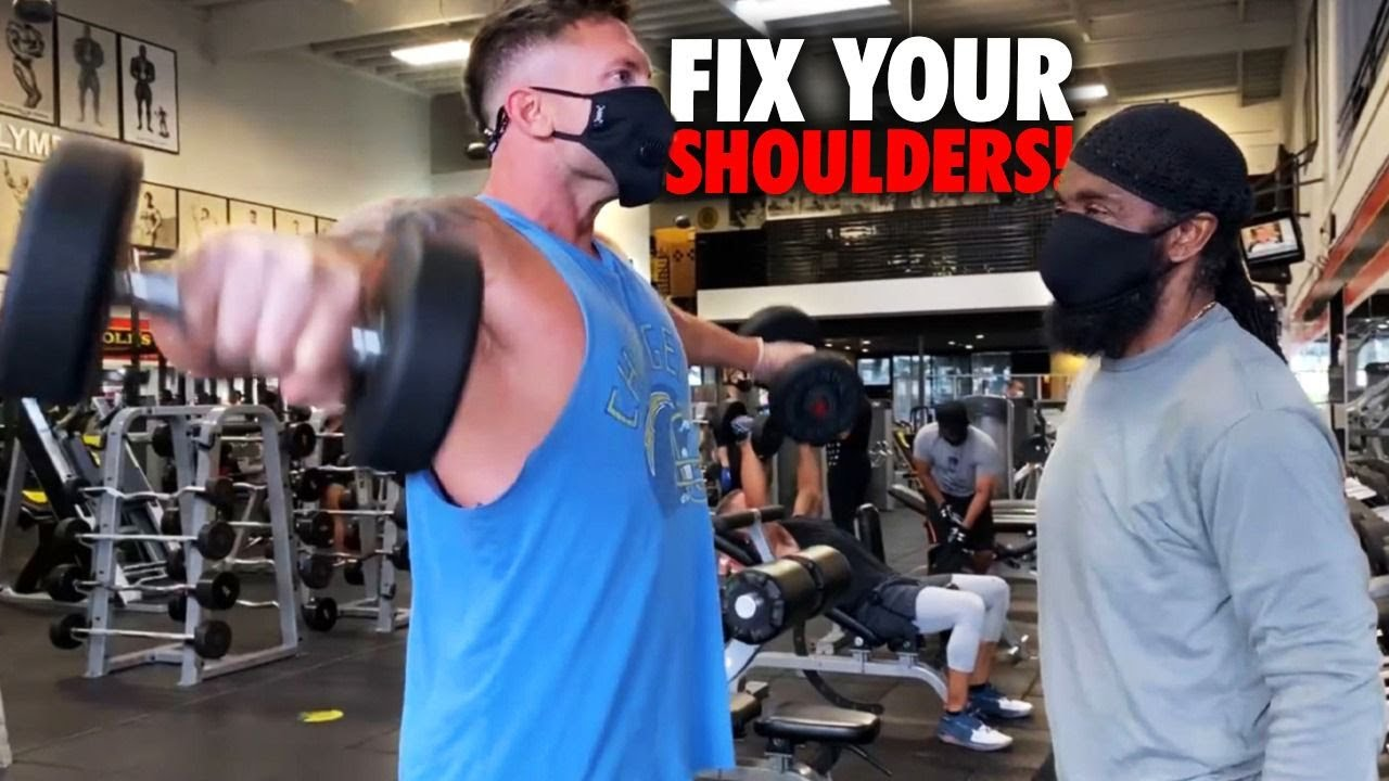 FIX YOUR SMALL SHOULDERS! (Stop Doing Lat Raises Wrong)